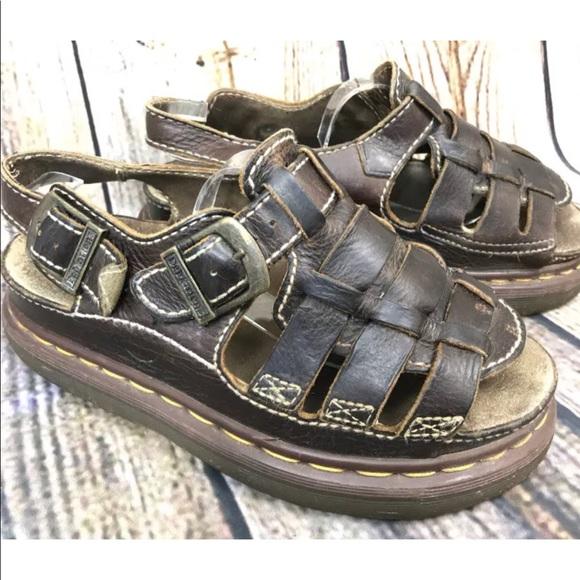 45d07757f471 Dr. Martens Shoes - Dr Doc Martens Fisherman Platform Sandal US 8 UK 7